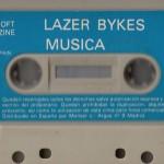 Un juego para ordenador (MSX).  No podía haber otro formato que el cassette. Cuando los juegos para ordenador los podías grabar de la radio. Había una emisora que, a cierta hora, los daba. Ese sonido tan característico de la carga.