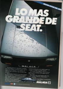 Los coches de la época… Este era la caña de España.