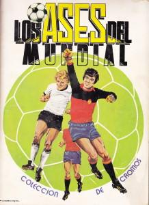 Todos los días, vísperas del Mundial de España 1982, a comprar cromos para este álbum en el quiosco cercano al colegio La Fuensanta. Cromos que cambiábamos en el patio, claro.